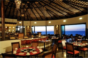 The view from La Roca Restaurant at Grand Solmar Timeshare